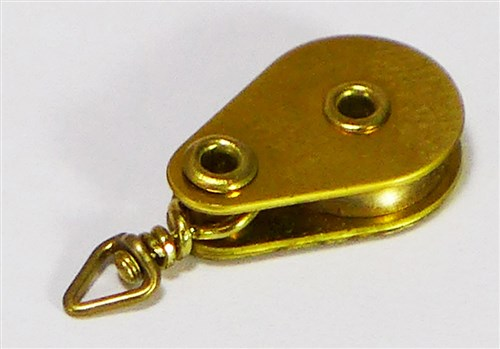 Swivel Block - Brass Series - 10 mm