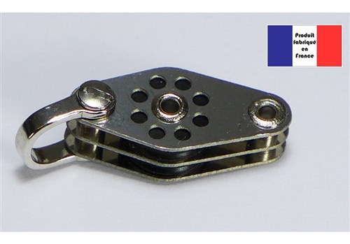 Shackle Double Block with Beckets - Lightweight Series - 10 mm