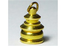 Brass Navigation Lamp with Ring - 12 mm