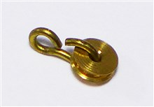 Brass Pulley - 4 mm