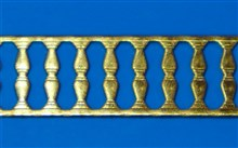 Decorative Brass Strip - D Type