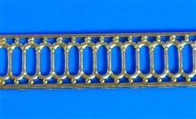 Decorative Brass Strip - F Type