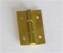 Working Brass Hinges