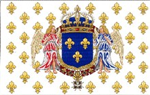 France - Kingdom Navy - Heraldic Lily - Angels