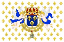 France - Kingdom Navy Seraphim and Heraldic Lily