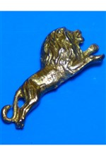 Cast Brass Lion