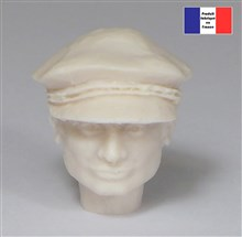 Head with Cap - 1/12