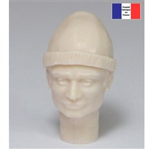 Head with Woollen Hat - 1/12
