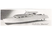 Harco 40 Speedboat Plan Set