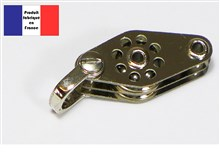 Shackle Double Block with Beckets - Ballraced Lightweight Series - 10 mm