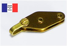 Shackle Block with Becket - Brass Series - 10 mm