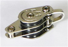 Shackle Triple Block with Becket- Ballraced Series - 10 mm