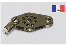 Shackle Block with Fiddle - Ballraced Lightweight Series - 10 mm