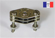 Double Cheek Block - Ballraced Series - 10 mm