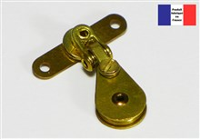 2 Axis Turning Block - Brass Series - 10 mm