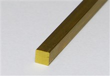 Brass Profiles - Square Sections