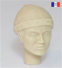Head with Woollen Hat - 1/20