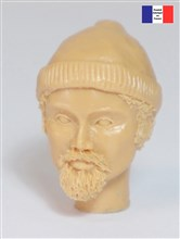Head with Goatee & Woollen Hat - 1/20