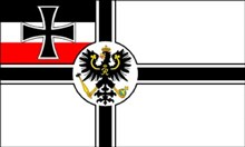 Flag of Germany - Imperial Navy WWI