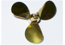 3-Blade Brass Propellers - A Type