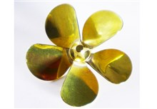 5-Blade Brass Propellers - A Type