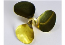 3-Blade Brass Propeller - DM Type