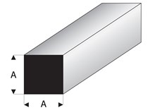 Super styrene square rod
