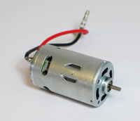 Brushed Motor 550 15 T - 7,2 V - RC System